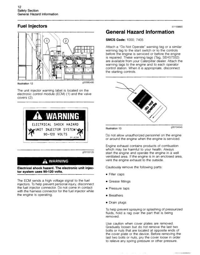 caterpillar operation and maintenance manual 3500 b engines s rh slideshare net Caterpillar Engine Parts Lookup Online Caterpillar Manuals