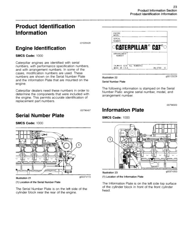 Caterpillar operation and maintenance manual 3500 b engines s