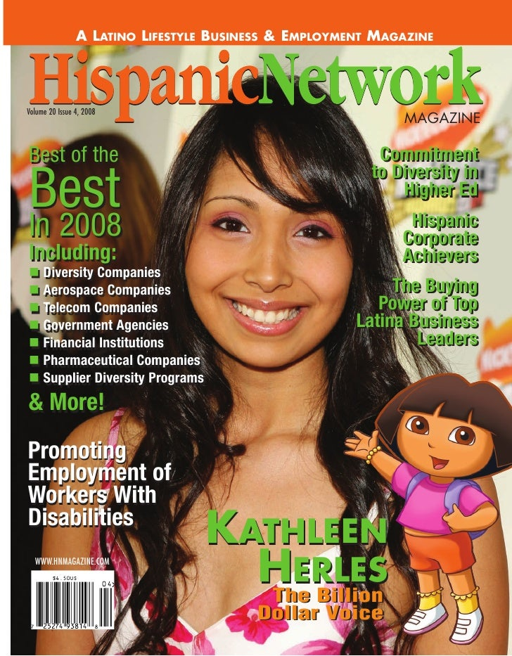 A LATINO LIFESTYLE BUSINESS & EMPLOYMENT MAGAZINE     Volume 20 Issue 4, 2008                                             ...
