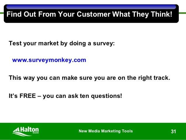 New Media Marketing, Presentation by Catharine Frith