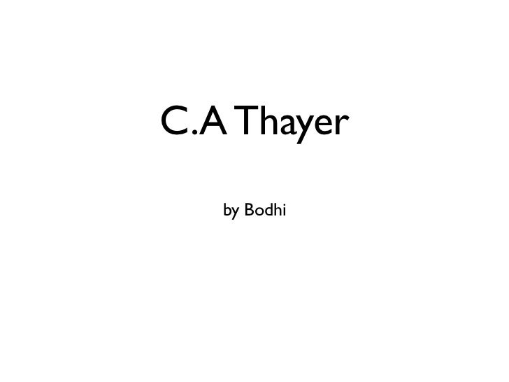C.A Thayer   by Bodhi