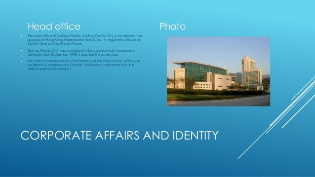 Cathay pacific - Cathay pacific head office ...