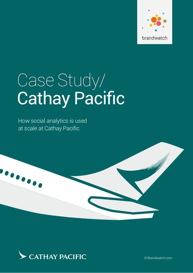 Cathay Pacific Case study - CIMA