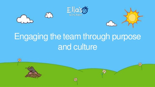 Engaging the team through purpose and culture