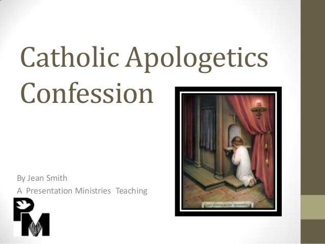 Catholic apologetics confession