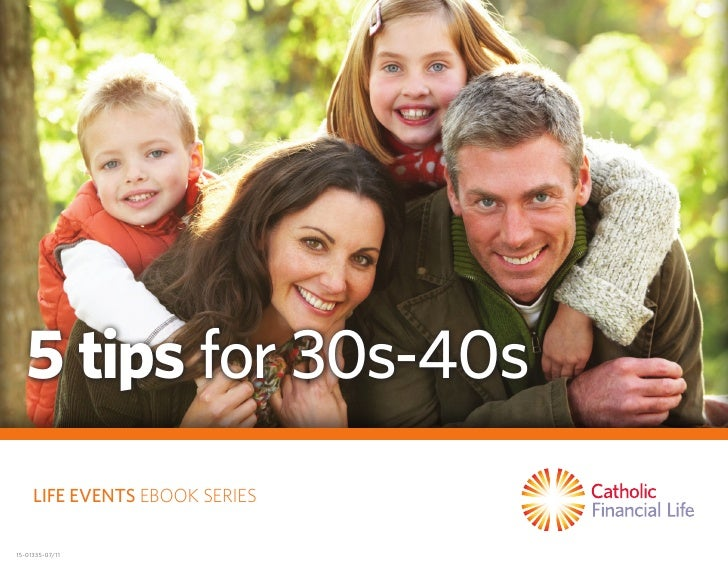 5 tips for 30s-40s     Life events Ebook SERIES15-01335-07/11