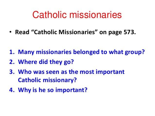 Catholic reformation the catholic reformation reached far beyond europe 10 ccuart Images