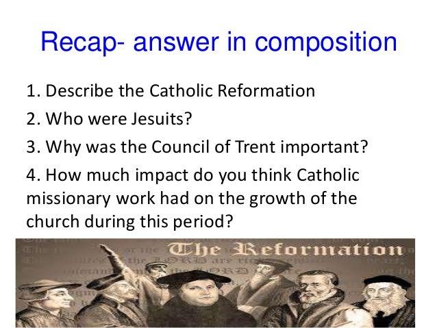 Catholic reformation 19 exit ticket 1 define the catholic reformation 2 draw a venn diagram ccuart Choice Image