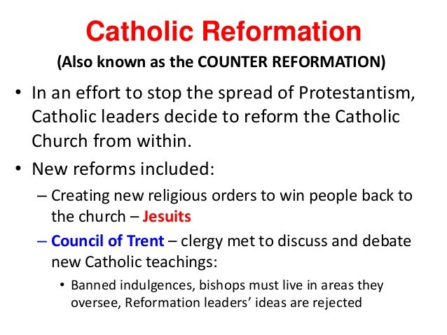 jesuits and the counter reformation