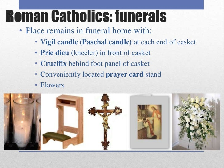 the roman catholic funeral rite vs Catholic funerals have traditions similar to other branches of christianity, but some customs are unique, and many have survived through history.