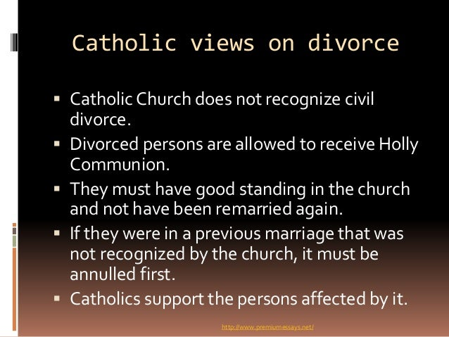 christian beliefs about marriage and divorce essay Only when i was compelled, some years ago, in teaching through the  in one  flesh as a parable of the relationship between christ and his church  rather it  reaffirms that marriage after divorce is adultery, even for those.