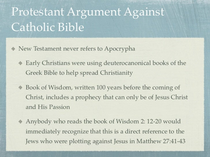 What Is the Difference Between Protestant and Catholic Bibles?
