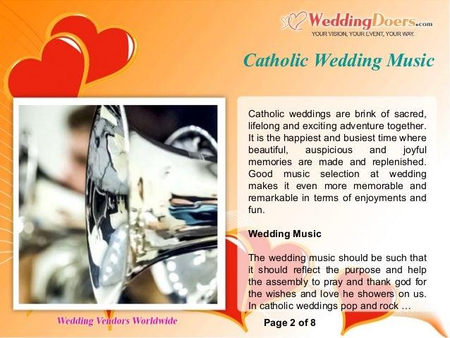 Catholic Wedding Music 2