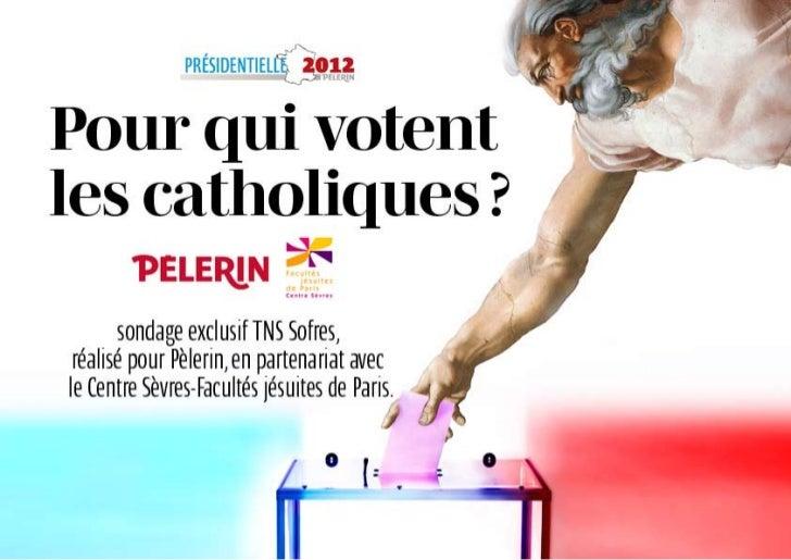 Sondage : pour qui votent les catholiques ?