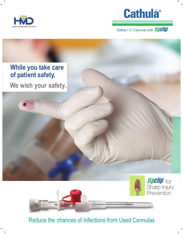 While you take care of patient safety, We wish your safety. www.hmdhealthcare.com Reduce the chances of Infections from Us...