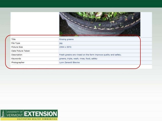 Vt. Farm Disaster Response Single repository for: • Centralized paperwork management* • Farm damage assessment outreach ma...