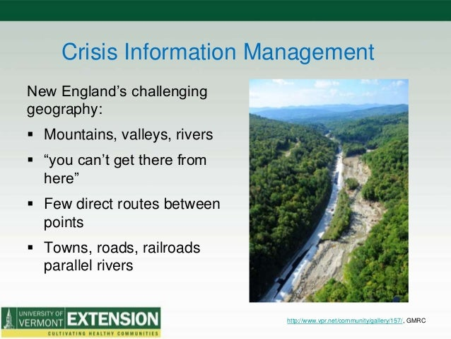 Vt. Farm Disaster Response • On-site completion & collection of forms • Confidential location for farmer paperwork – easil...