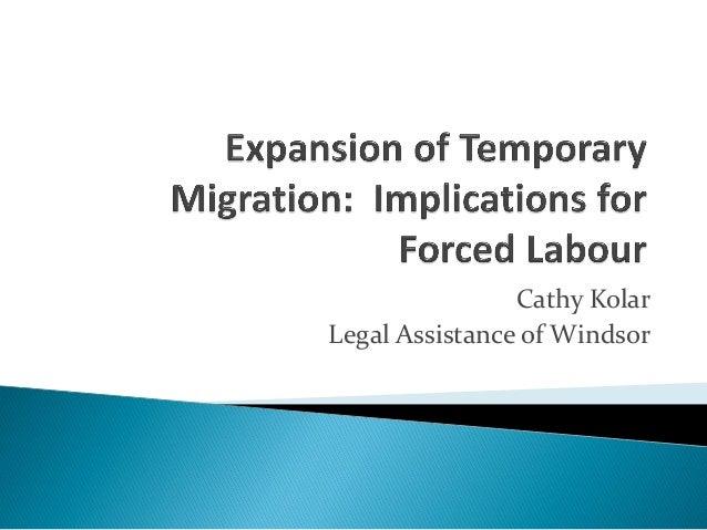 Cathy KolarLegal Assistance of Windsor