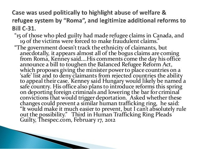Pre-Bill C-31Claims were reopened and/or modified. Because of lengthytimeline, claimants were able to gather evidence of r...