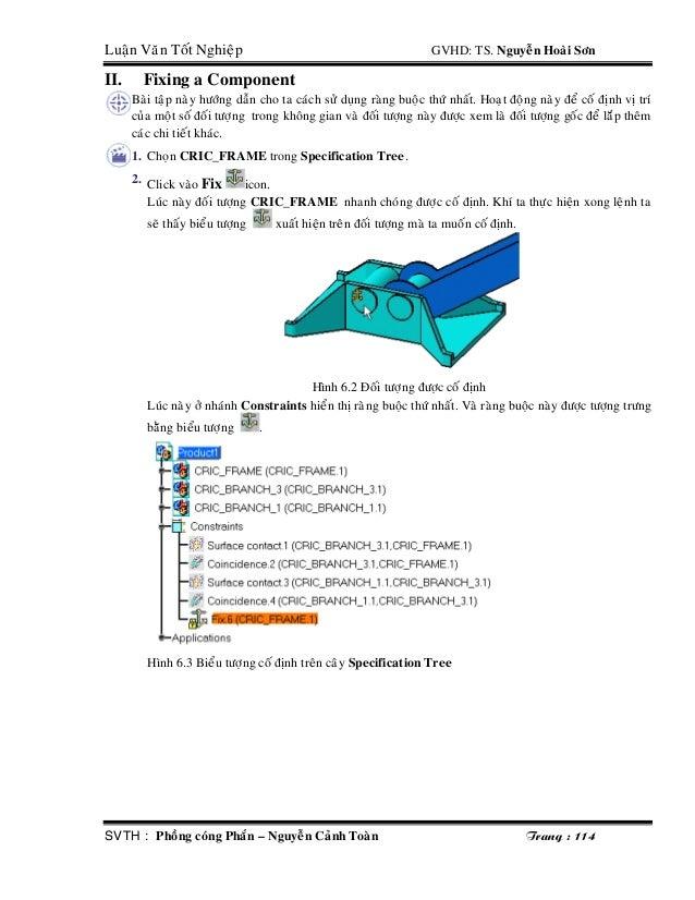 Ebook tự học CATIA từ A-Z - TS Nguyễn Hoài Sơn