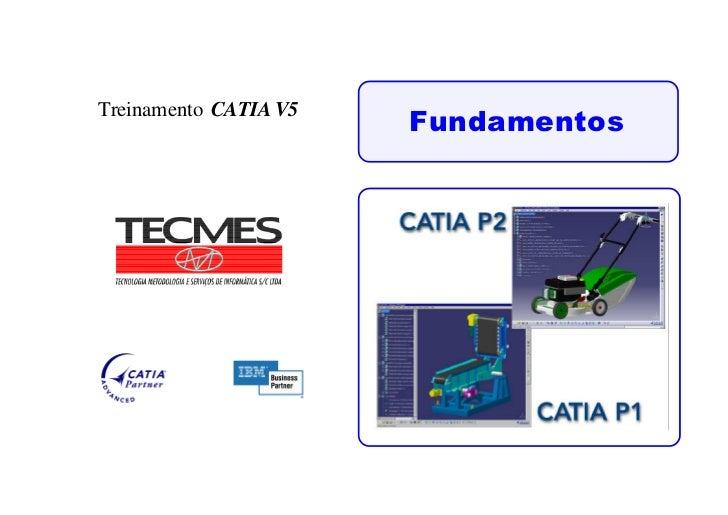 FundamentosTreinamento CATIA V5