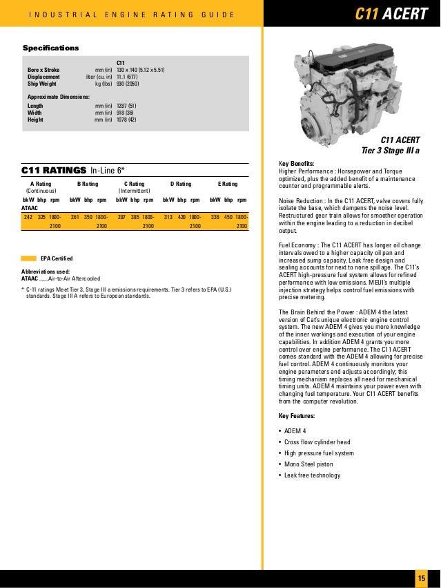 C13 exhaust Torque