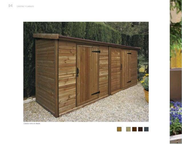Casetas y garajes de exterior nueva colecci n de p rgolas for Casetas para exterior baratas