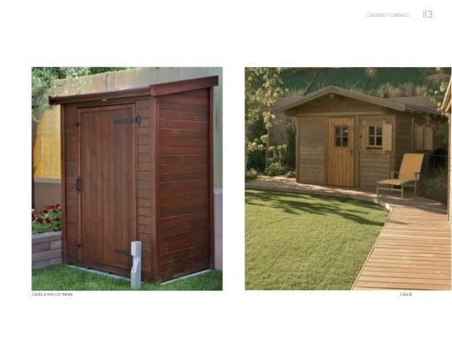 Casetas y garajes de exterior nueva colecci n de p rgolas - Casetas de exterior ...