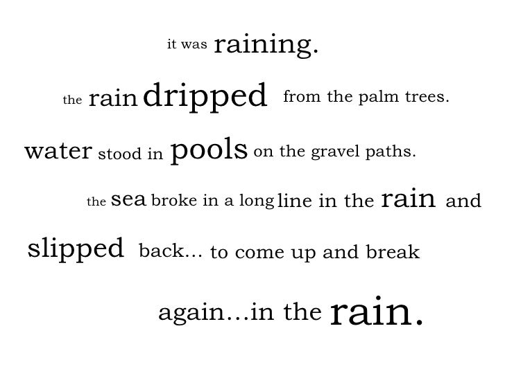 line in the raining. rain   dripped water slipped   it was the from the palm trees. stood in on the gravel paths. the  sea...