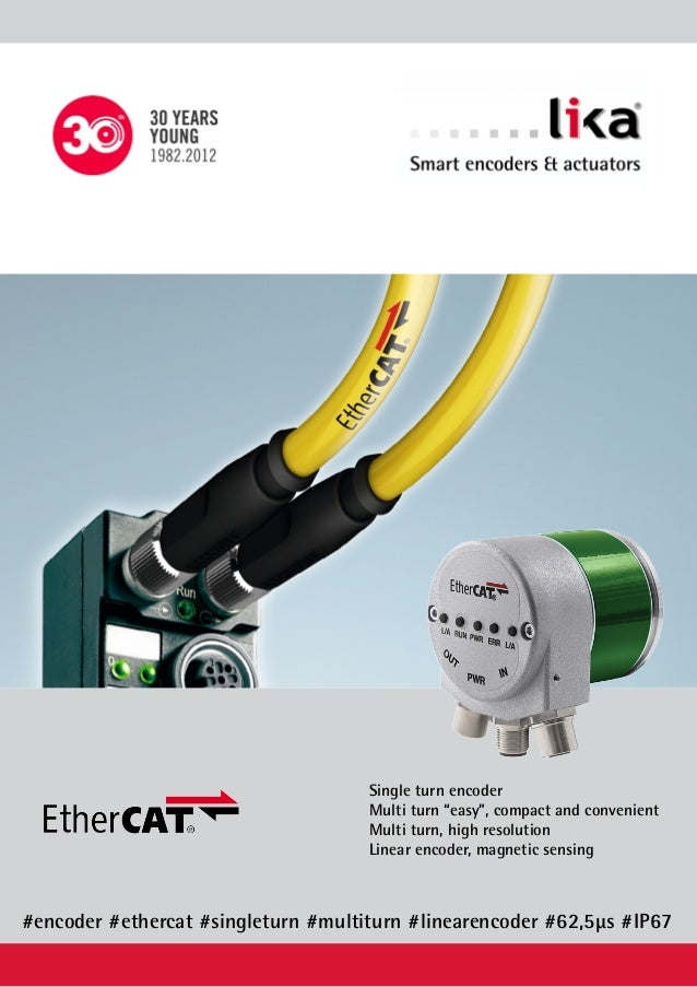 """Single turn encoder Multi turn """"easy"""", compact and convenient Multi turn, high resolution Linear encoder, magnetic sensing..."""