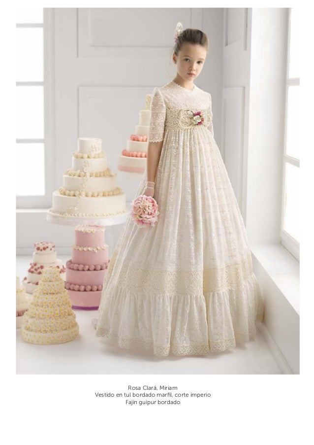 Vestido comunion fajin rosa