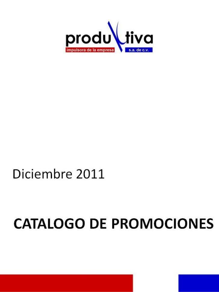 Catálogo  Diciembre 2011