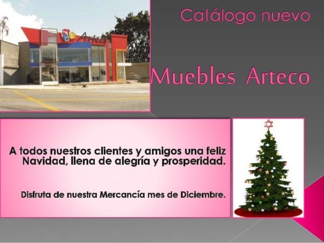 CatáLogo  Especial  Muebles  Arteco Temporada  Diciembre.  Alcobas.
