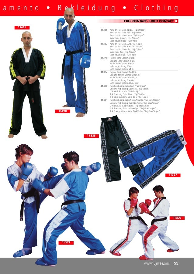bianco//blu KWON M KWON Capoeira pantaloni Stripe