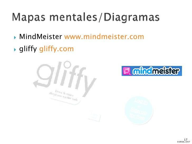 <ul><li>MindMeister  www.mindmeister.com   </li></ul><ul><li>gliffy  gliffy.com   </li></ul>©GRIAL 2007