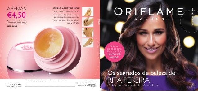 ORIFLAME PORTUGAL,Apoio ao Cliente Telf.21 427 96 01,Para Encomendas: 214279602 www.oriflame.pt Este catálogo foi escrito c...