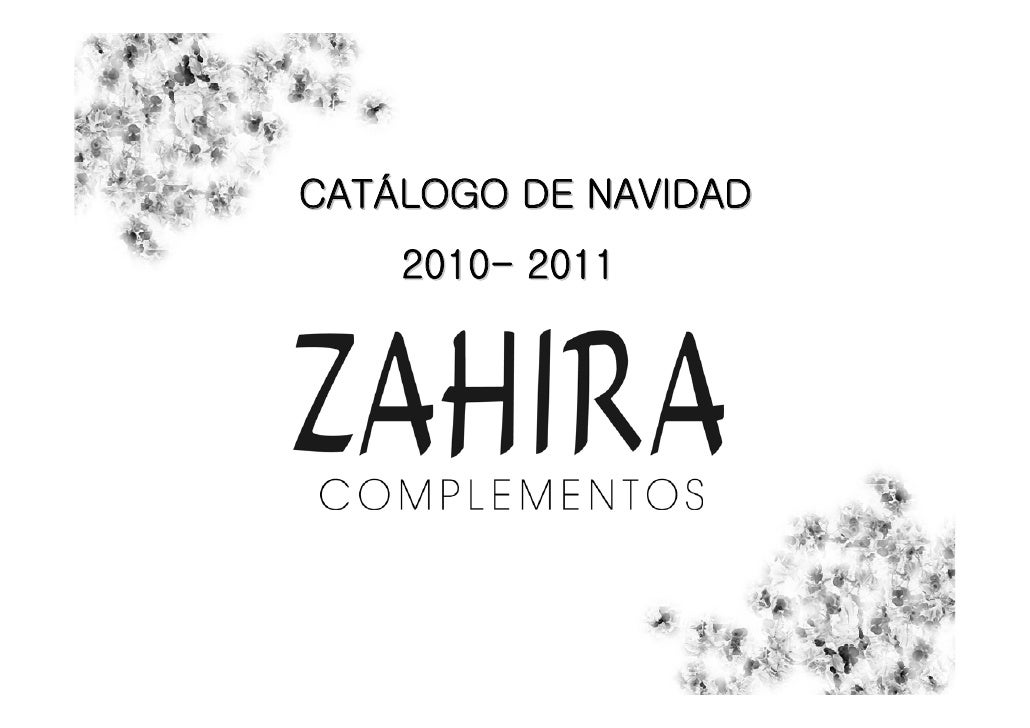 CATÁLOGO DE NAVIDAD    2010- 2011