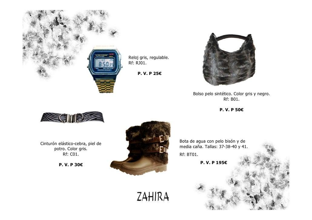Catálogo Zahira Moda 2010 navidad  Slide 3