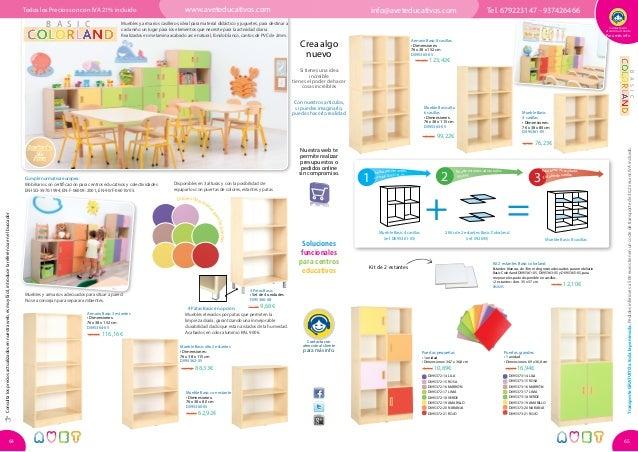Catálogo 2015 2016 mobiliario escolar