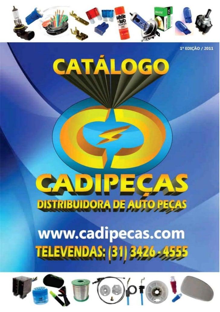 Catálogo cadipeças 2011