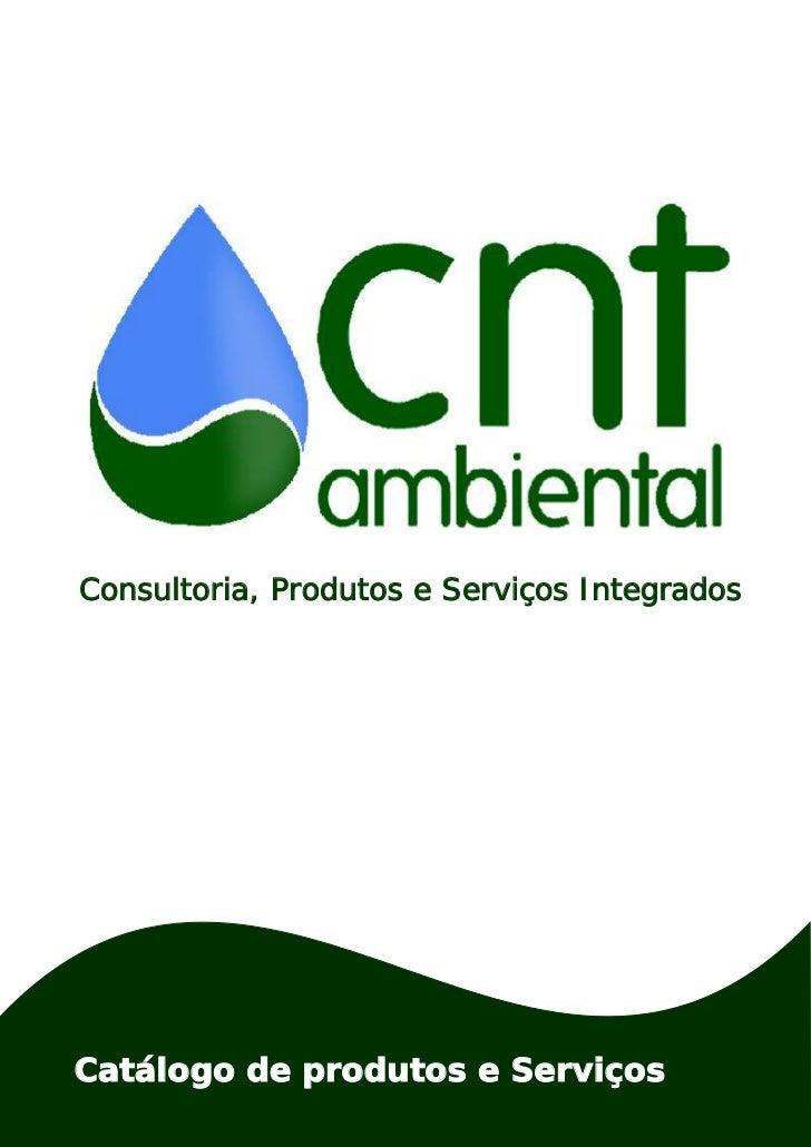 Consultoria, Produtos e Serviços IntegradosCatálogo de produtos e Serviços
