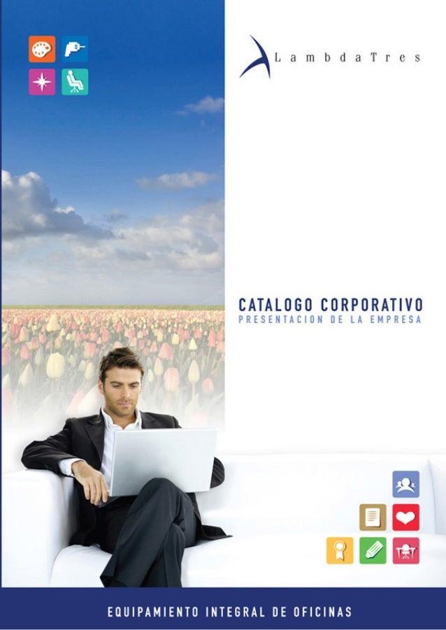 Catálogo corporativo