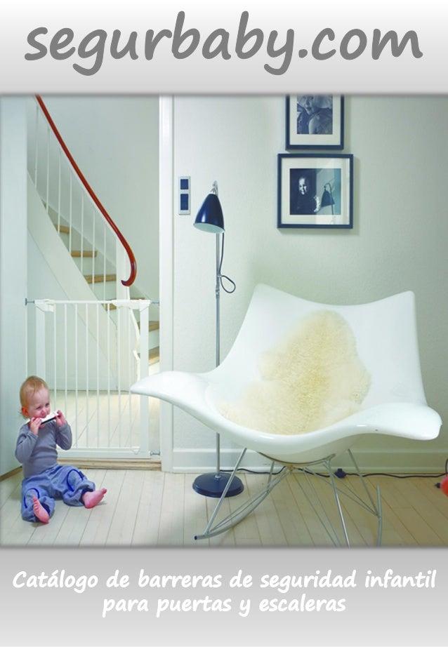 Catálogo de barreras de seguridad para puertas y escaleras
