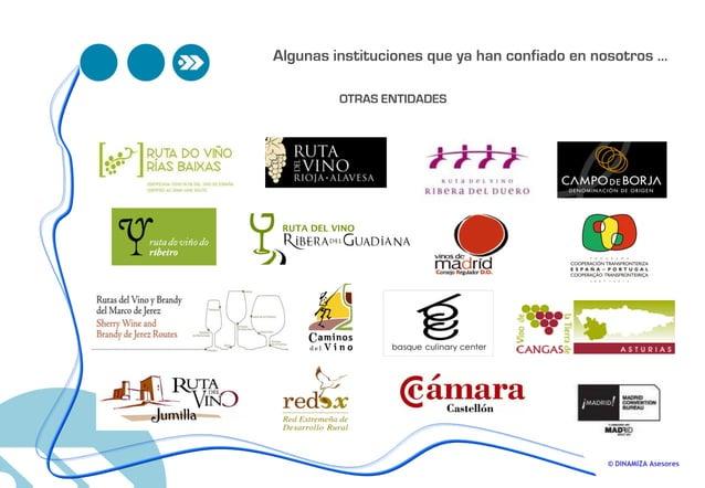 © DINAMIZA Asesores OTRAS ENTIDADES Algunas instituciones que ya han confiado en nosotros …