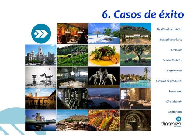 """© DINAMIZA Asesores 6. Casos de éxito """"Cada proyecto supone asumir nuevos retos, mejorar los resultados de nuestros client..."""