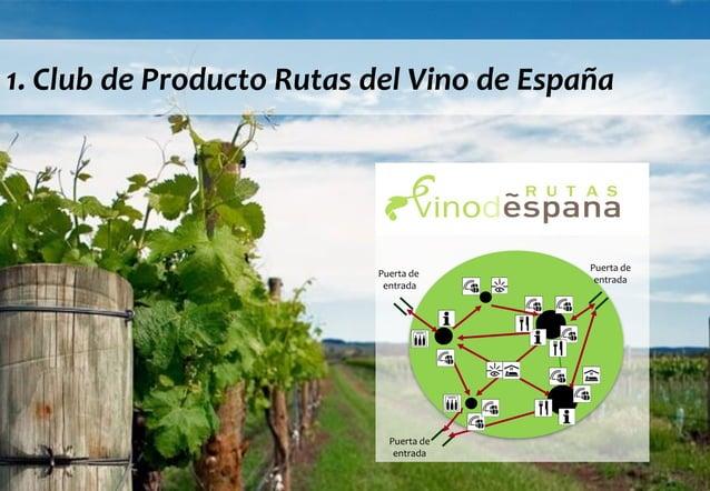 © DINAMIZA Asesores 1. Club de Producto Rutas del Vino de España Puerta de entrada Puerta de entrada Puerta de entrada