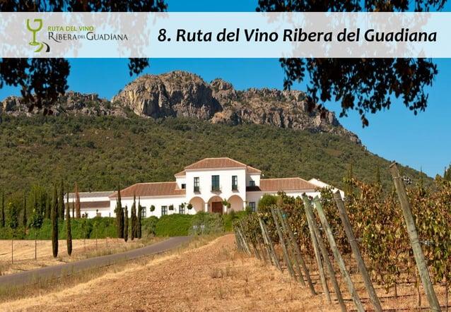 © DINAMIZA Asesores 8. Ruta del Vino Ribera del Guadiana