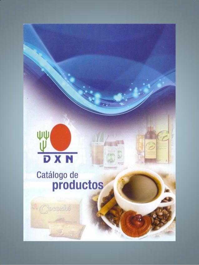 DXN  /   Catálogo de productos