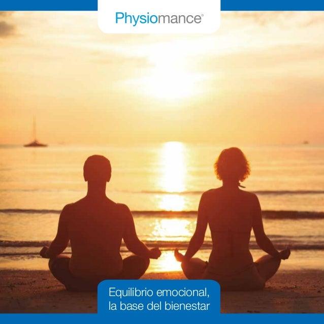 | 1 Equilibrio emocional, la base del bienestar
