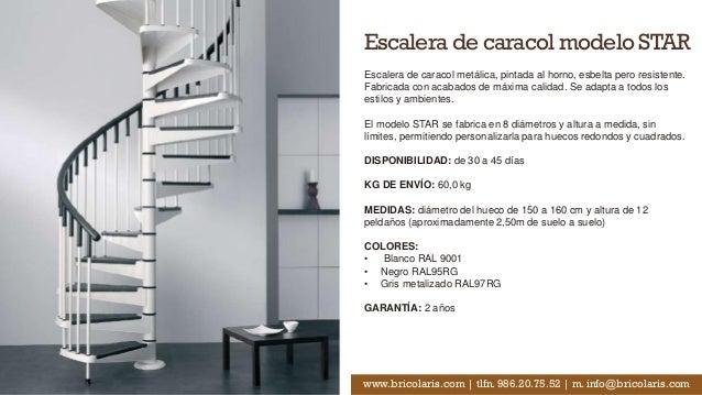Cat logo escaleras caracol bricolaris - Modelos de escaleras ...